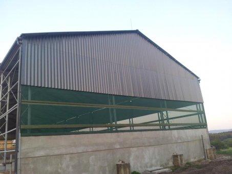 Pokládka plechové střechy